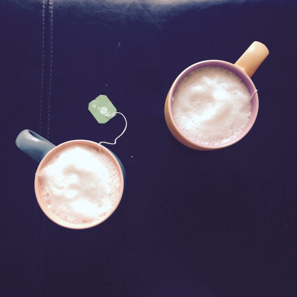 A Healthier London Fog On a Cool Fall Day
