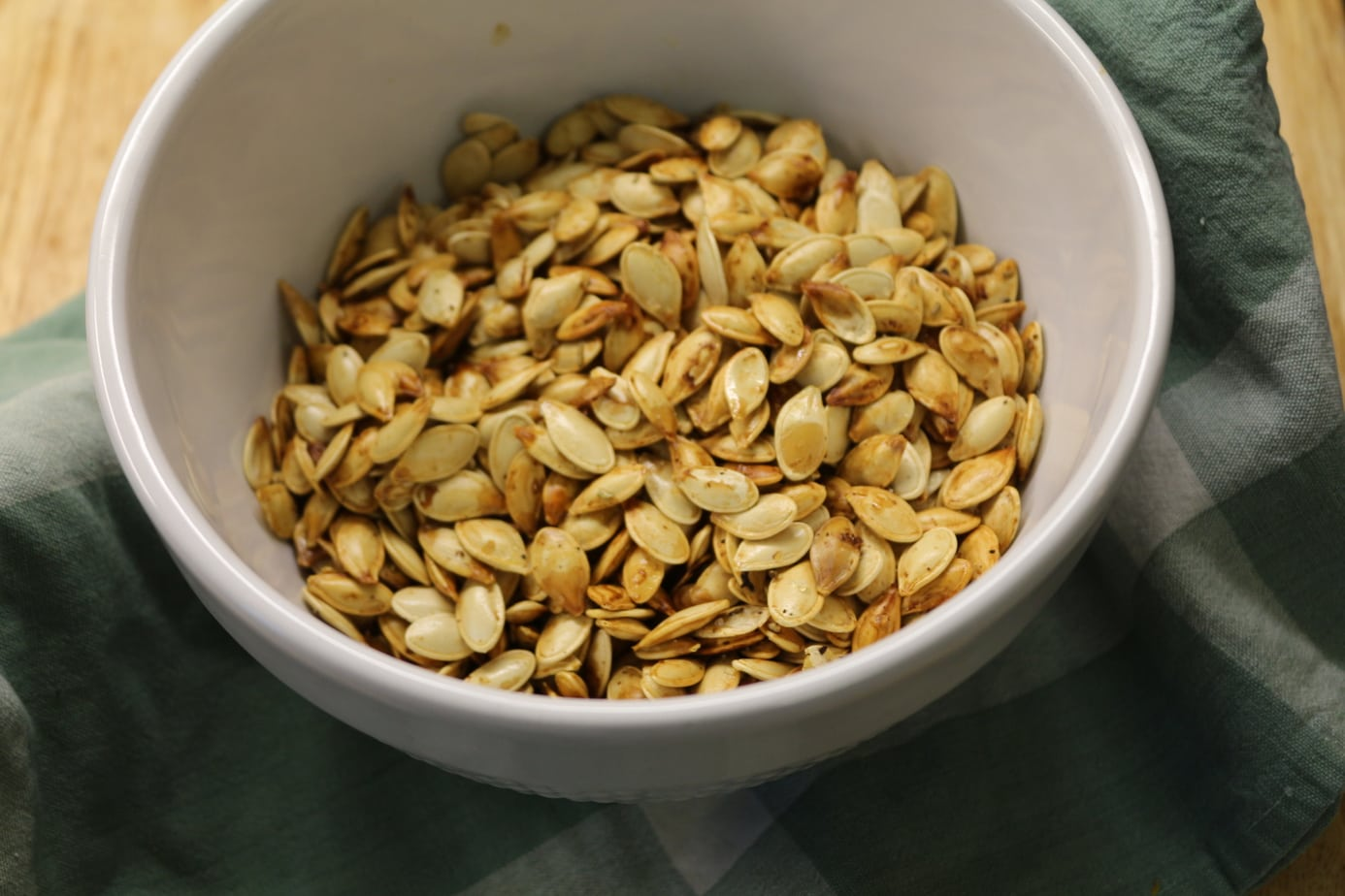 Savoury Rosemary Pumpkin Seeds