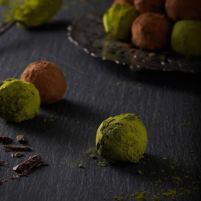 ON THE BLOG these decadent paleo  vegan Matcha Cacaohellip