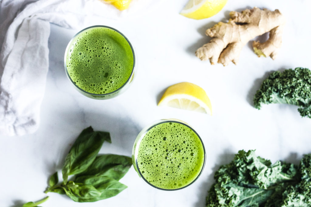 Green Detox Juice (No Juicer Needed!)